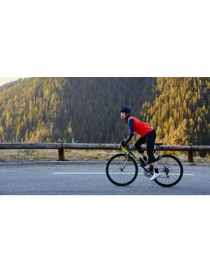 The packable Signal Gilet brings extra warmth for winter mornings