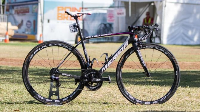 Lampre-Merida's new Scultura, snapped at the 2016 Tour Down Under