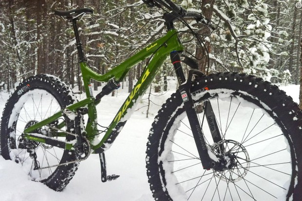 Salsa's Bucksaw Carbon GX1 blurs the line between a winter and all-seasons machine