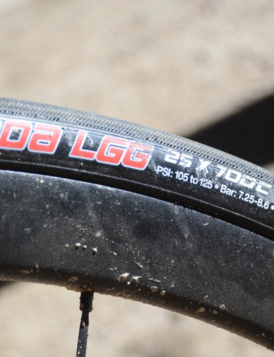 The LGG is a great all-round tyre that isn't afraid to get dirty