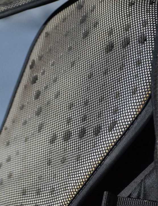 Camelbak calls its perforated back panel Airfoil