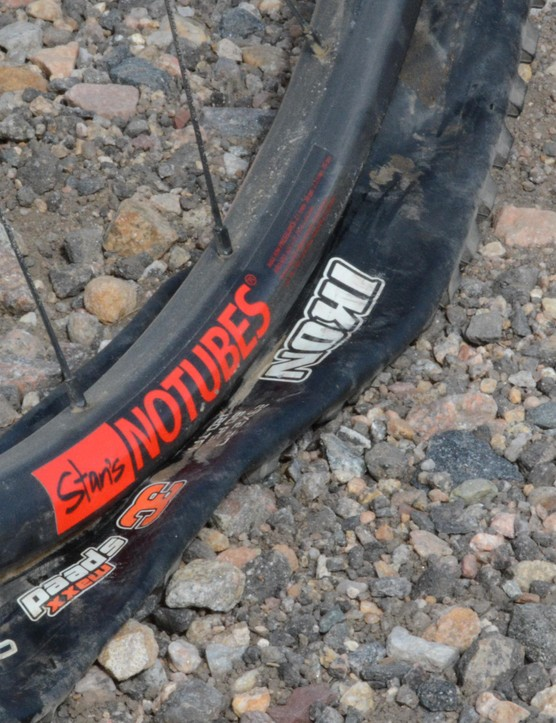 Get used to this. About the only thing Maxxis Ikon treads have going for them is being crazy light