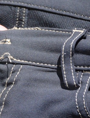 While functionally irrelevant, loose stitching is hard to see on $200 pants