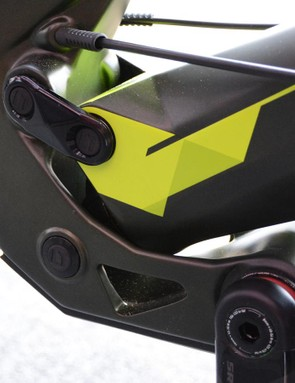 The Naild R3act rear end was designed as a ground tracking system