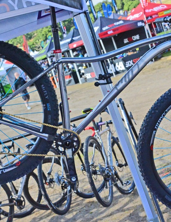 Why Cycle's titanium Wayward hardtail rolls on 29x2.8in rubber
