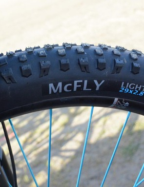 Terrene McFly tires were seen on a lot of 29+ bikes