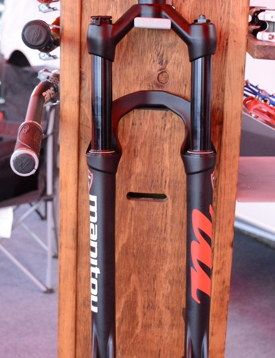 Manitou's extremely refreshing Markhor fork is designed to keep older bikes on the trail