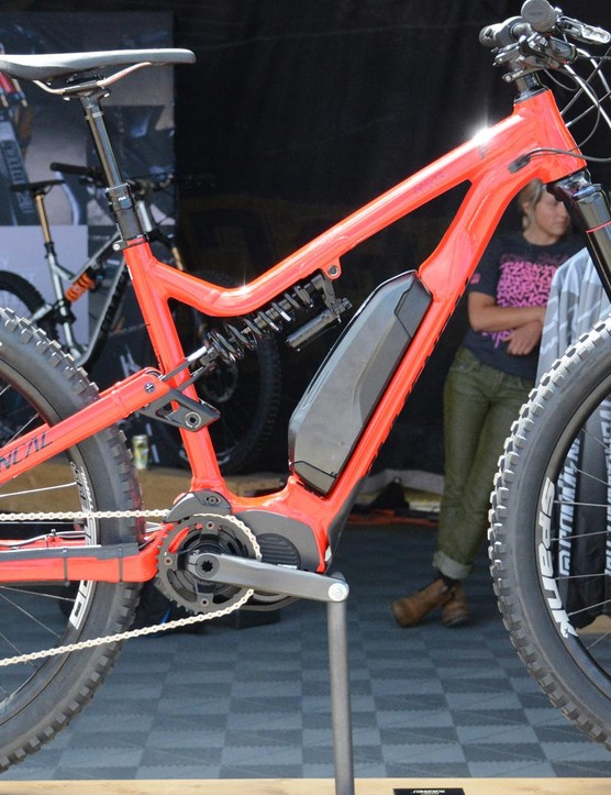 Commencal's Meta Power e-bike features 27.5x2.8in Minions front and rear