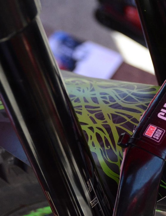 Factory-sponsored riders get special damping tunes and fresh forks before each event