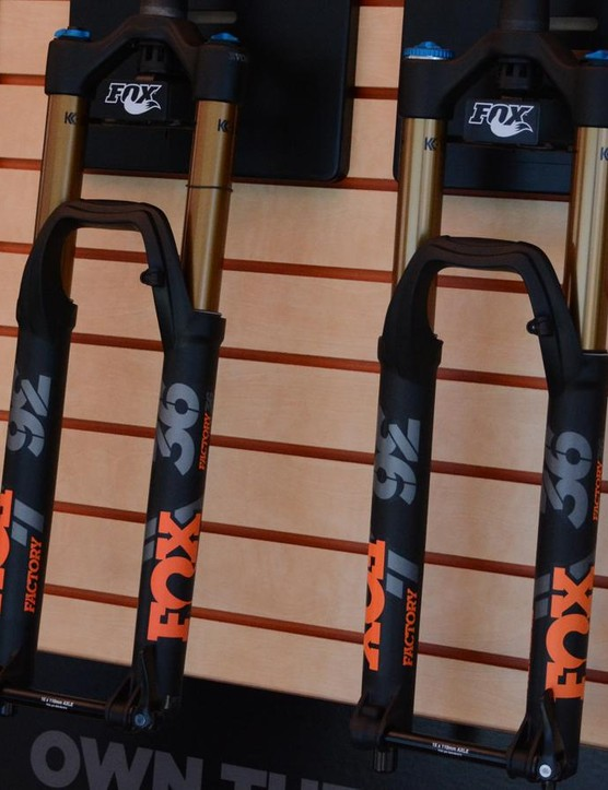 The benchmark enduro fork, Fox's 36, has been tweaked for improved performance this year
