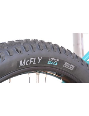 The Terrene McFly tires are available in Tough and Light casings