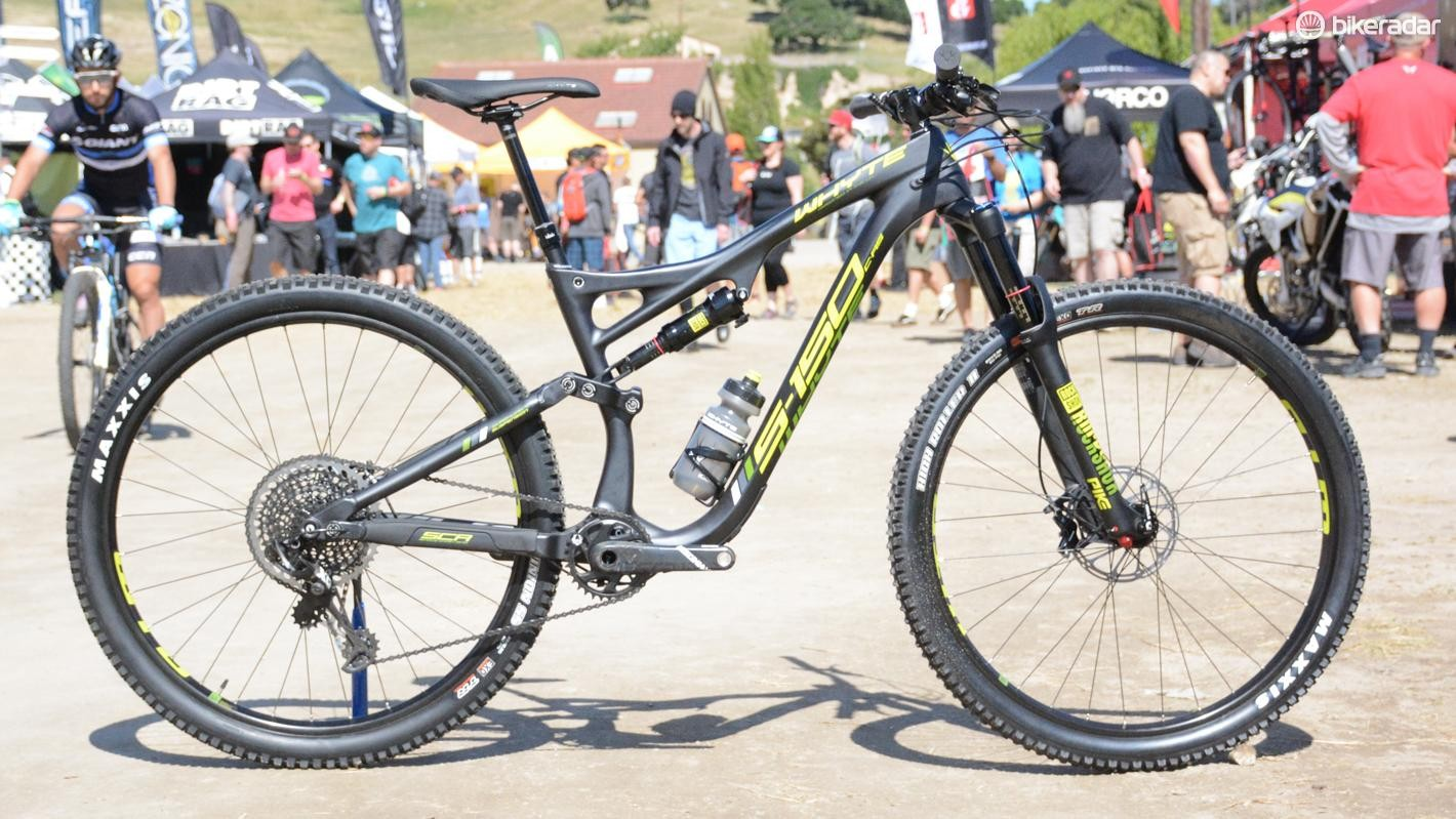 Whyte's S-150 C-RS is a 150mm travel 29er