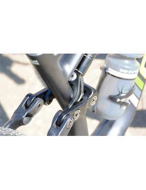 The use of larger bearings throughout allows for alloy hardware instead of steel