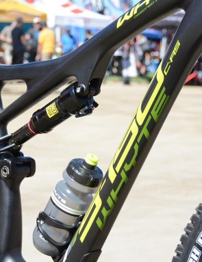 This slack, enduro, 29er carbon frame is all new for Whyte