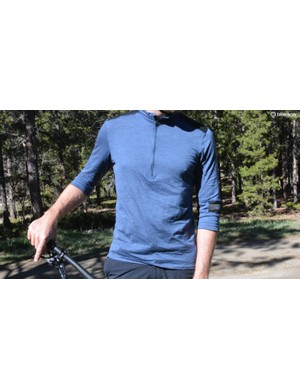 My new go-to jersey, Ibex's Enduro Half Zip
