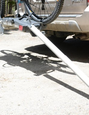 Spent every ounce of energy on your ride? Don't stress, a ramp is included