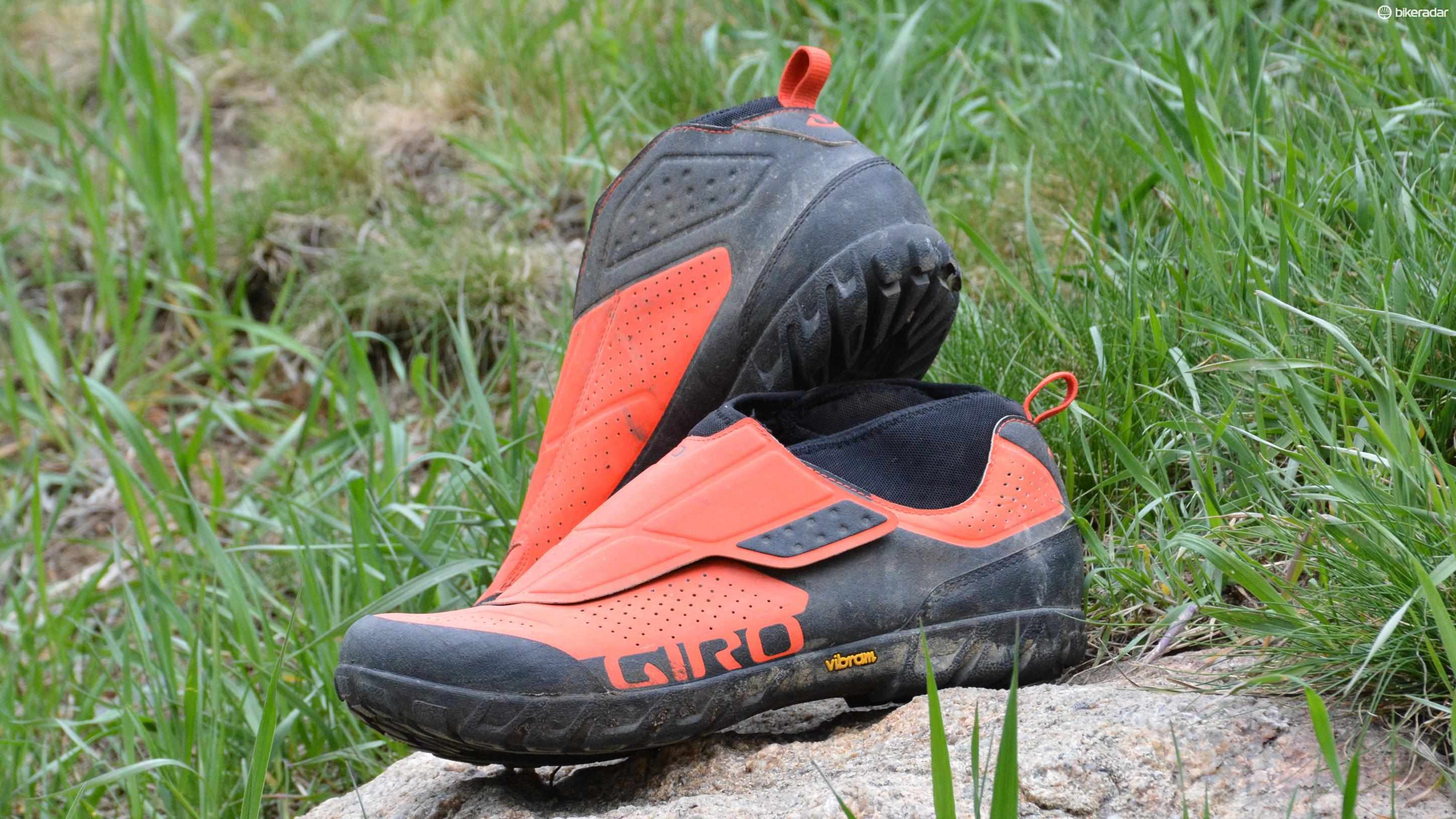 Giro's Terraduro Mids have the ambitious goal of being the ultimate all-mountain shoes