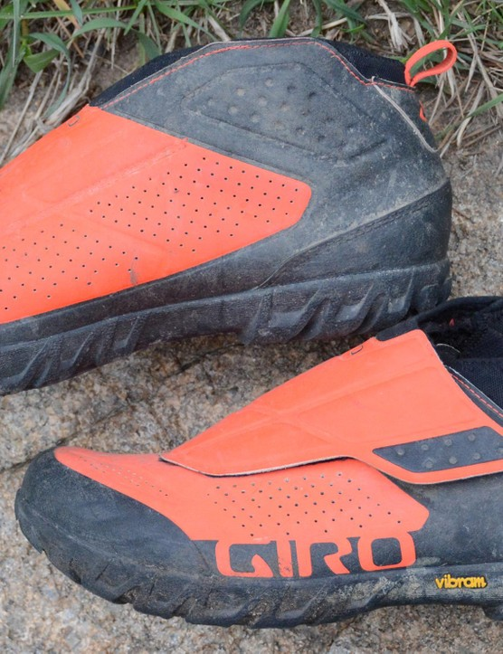 The mid-top ankle height adds some impact protection and keeps debris out