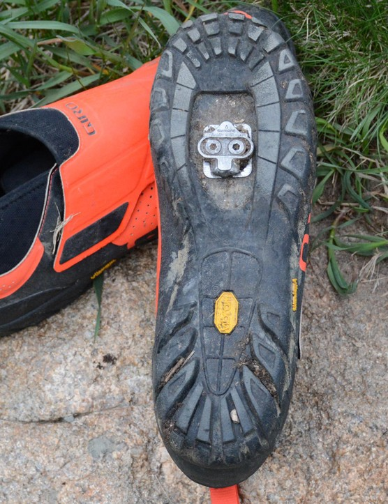 Vibram outsoles made hiking and walking a slip-free affair
