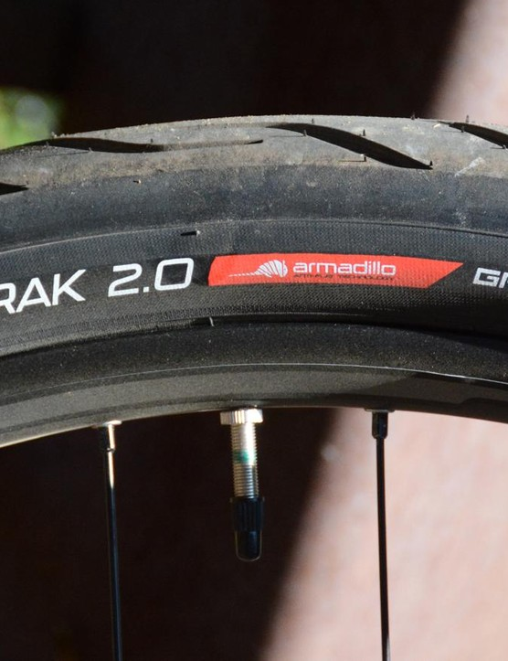 Specialized's new Electrak tires were impressive with a soft, smooth ride