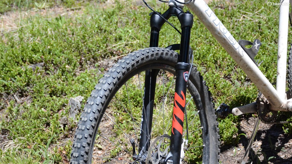 The Manitou Markhor is a new suspension fork that fits your