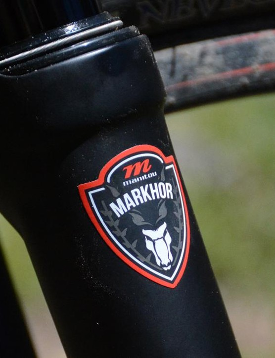 Manitou's Markhor was built to keep older mountain bikes out of storage and on the trail
