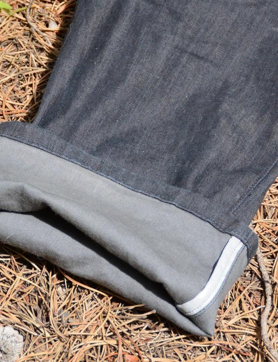 Reflective accents are found on the drive side leg, belt loop and side thigh pocket