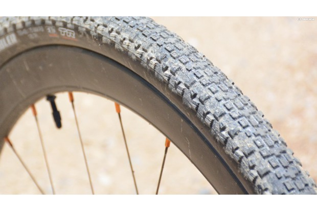The Maxxis Rambler tyre