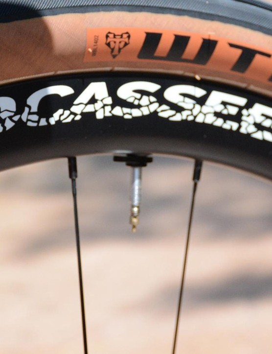 Boyd Cycling's Jocassee are gravel specific 27.5in rims