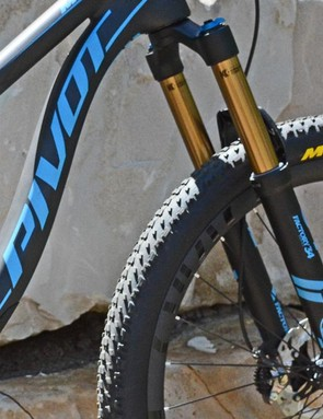 Complete bikes can be had with either a Fox 32 or 34 fork