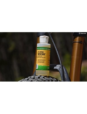 WPL's ForkBoost is a simple way to keep your mountain bike suspension smooth and prolong service intervals