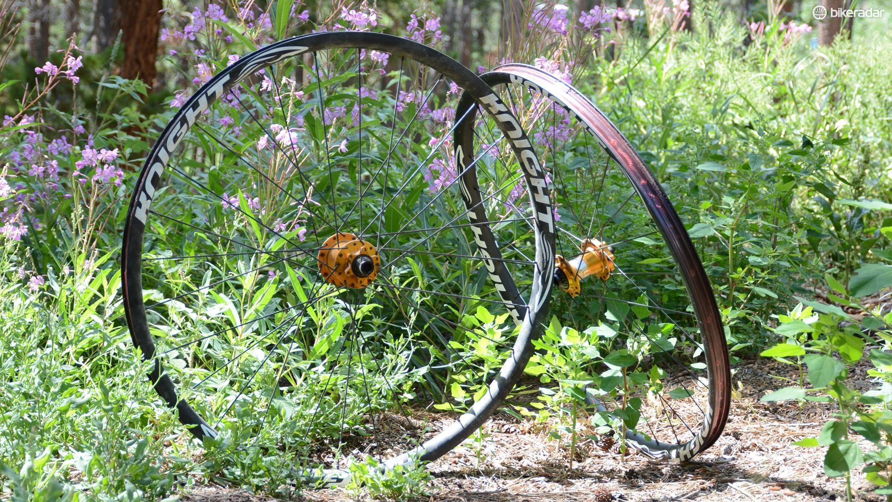 Knight Composite's Trail wheels are much more than just a quick ride