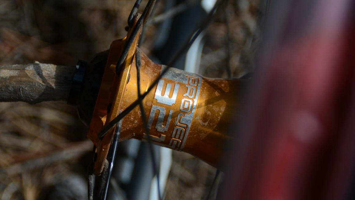 This wheelset was built with Project 321's very impressive hubs