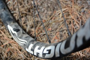 The Trail wheels spent time on a hardtail and a full-suspension bike