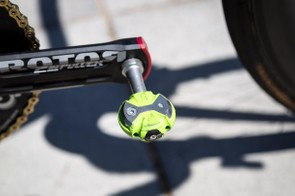 Team Dimension Data is using Speedplay pedals