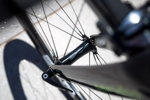 …complete with the brand's new carbon hubs