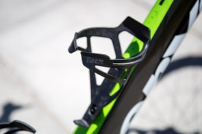 Black Tacx Deva bottle cages could be easily overlooked