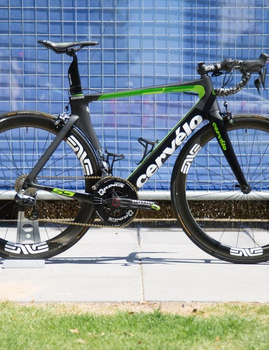 Lachlan Morton's 2017 Dimension Data Cervélo S5