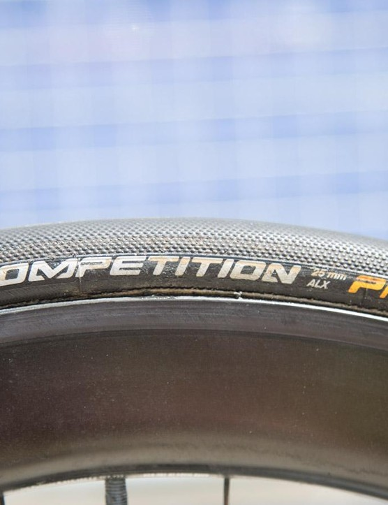 Continental 25mm tubular tyres