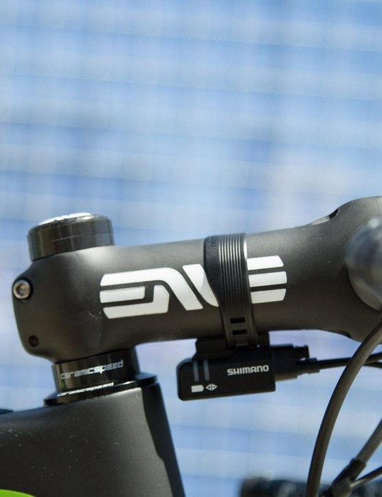Morton opts for 10mm of spacers under his stem