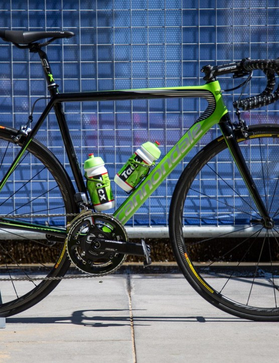 Check out Patrick Bevin's Cannondale SuperSix Evo