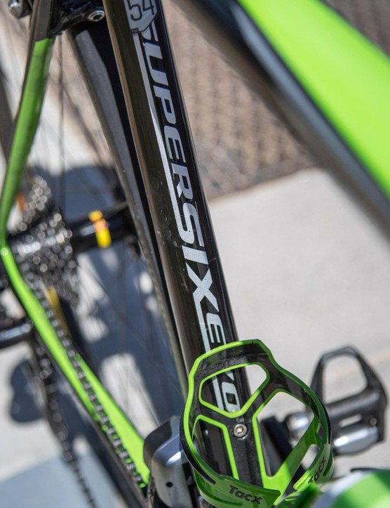 Cannondale Drapac is riding SuperSix Evos this year