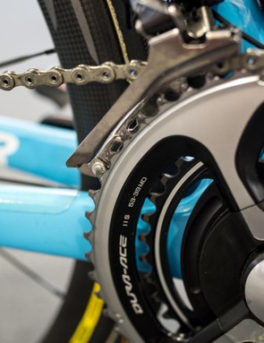 53-39 chainrings for the Italian