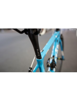 Pozzovivo's seatpost is marked with electrical tape