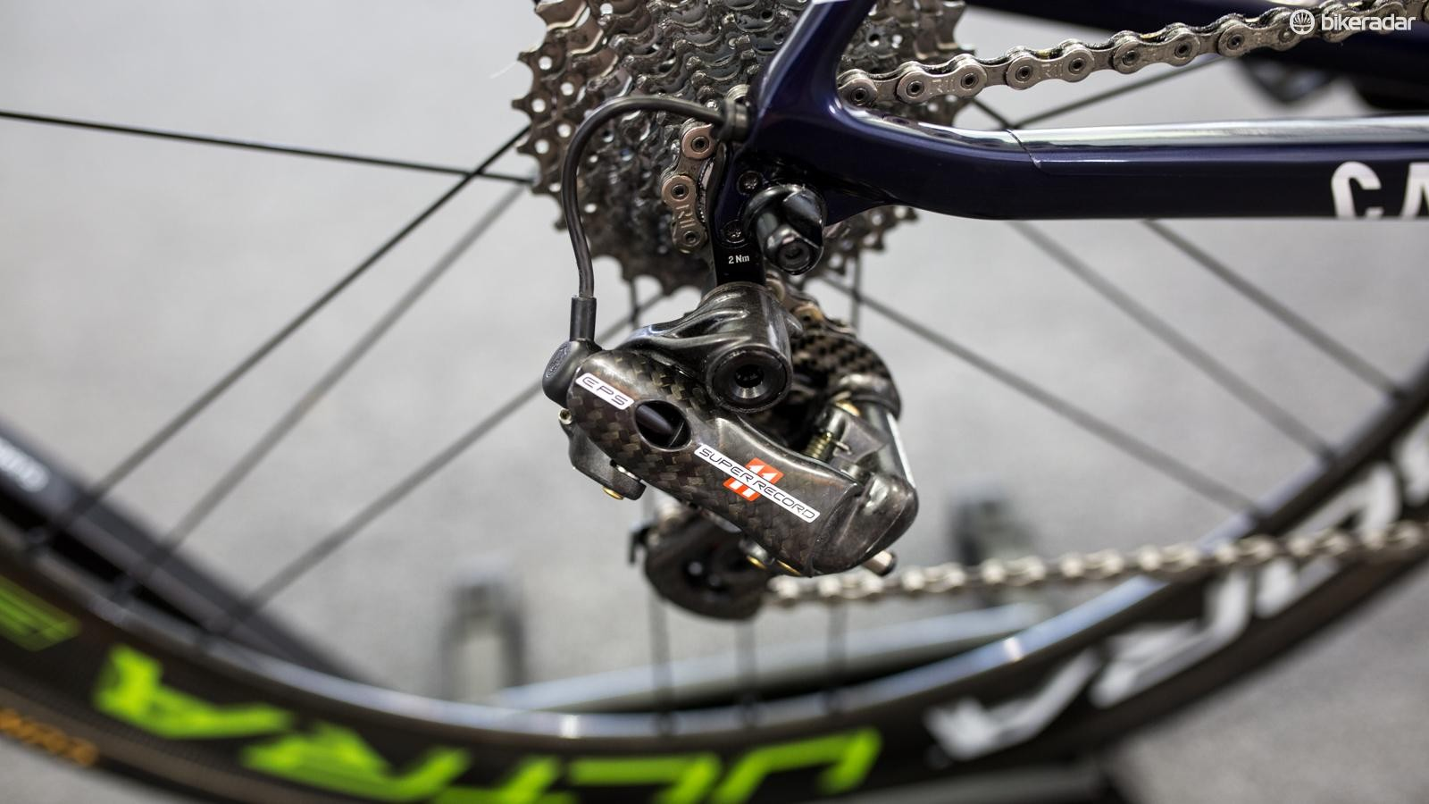 Campagnolo Super Record EPS rear derailleur