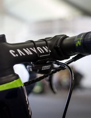 Herrada opts for a 120mm stem