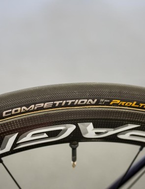 Continental Competition 25mm tubular tyres