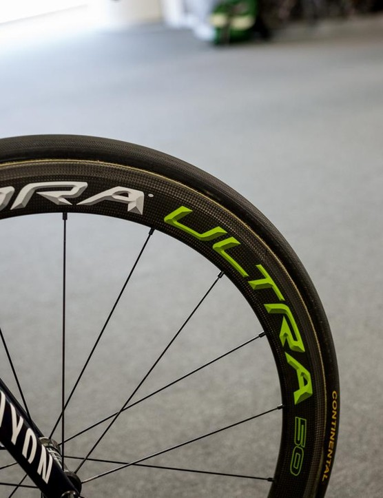 Campagnolo Bora Ultra 50 wheels