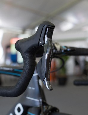 The ergonomics of the Dura-Ace 9150 Di2 shifters have changed slightly