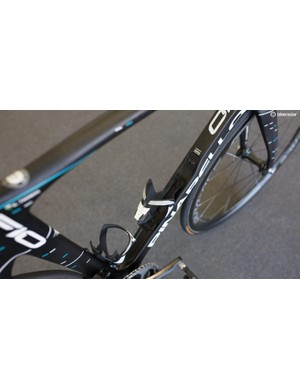 The concave downtube
